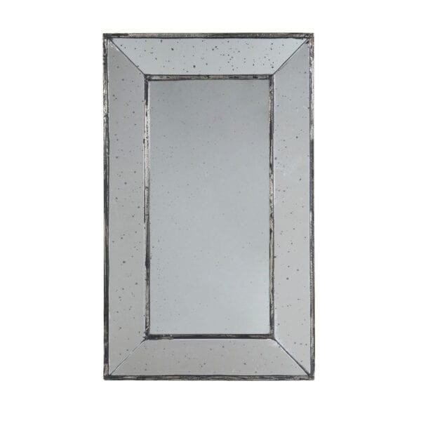 Specchio rettangolare antico