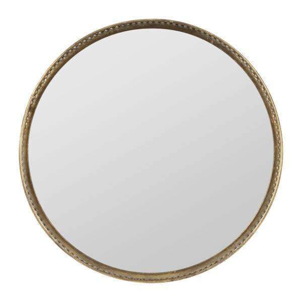 Vassoio dorato con specchio – Piccolo