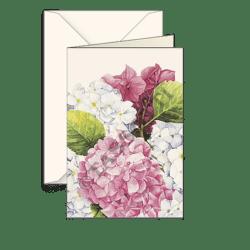 Biglietti auguri avorio – Hydrangea