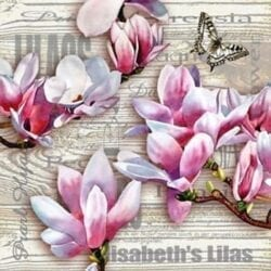 Tovaglioli di carta 3 veli – Elisabeth's Lilas