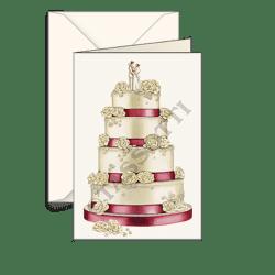 Biglietti auguri avorio – Matrimonio