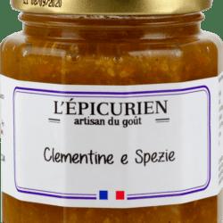 Confettura di clementine e spezie – 210g