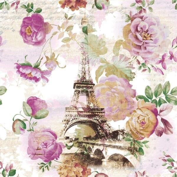 Tovaglioli di carta 3 veli – Tour Eiffel