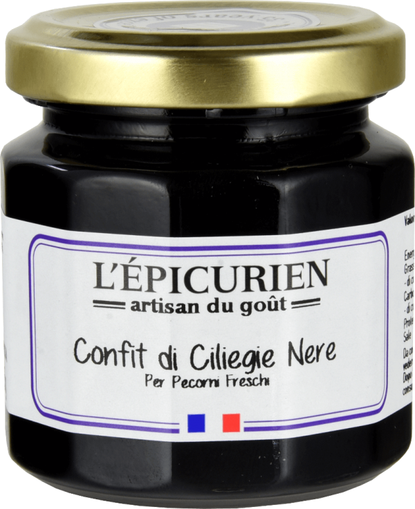 Confettura di ciliegie nere – 125g