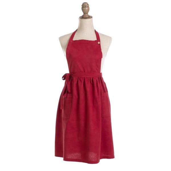 Grembiule in cotone – Rosso