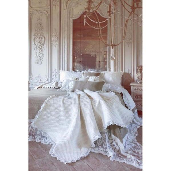 Trapuntino fondo letto – Tortora