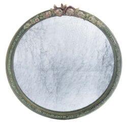 Specchio con decorazione di fiori – Grande