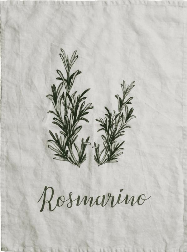 Canovaccio in lino – Rosmarino