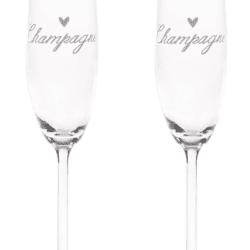 Set di 2 Flûte – Champagne