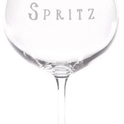 "Calice cocktail – Scritta ""Spritz"""