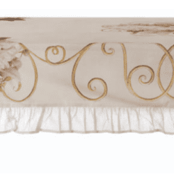 Tovaglia con gala rettangolare – Peonia