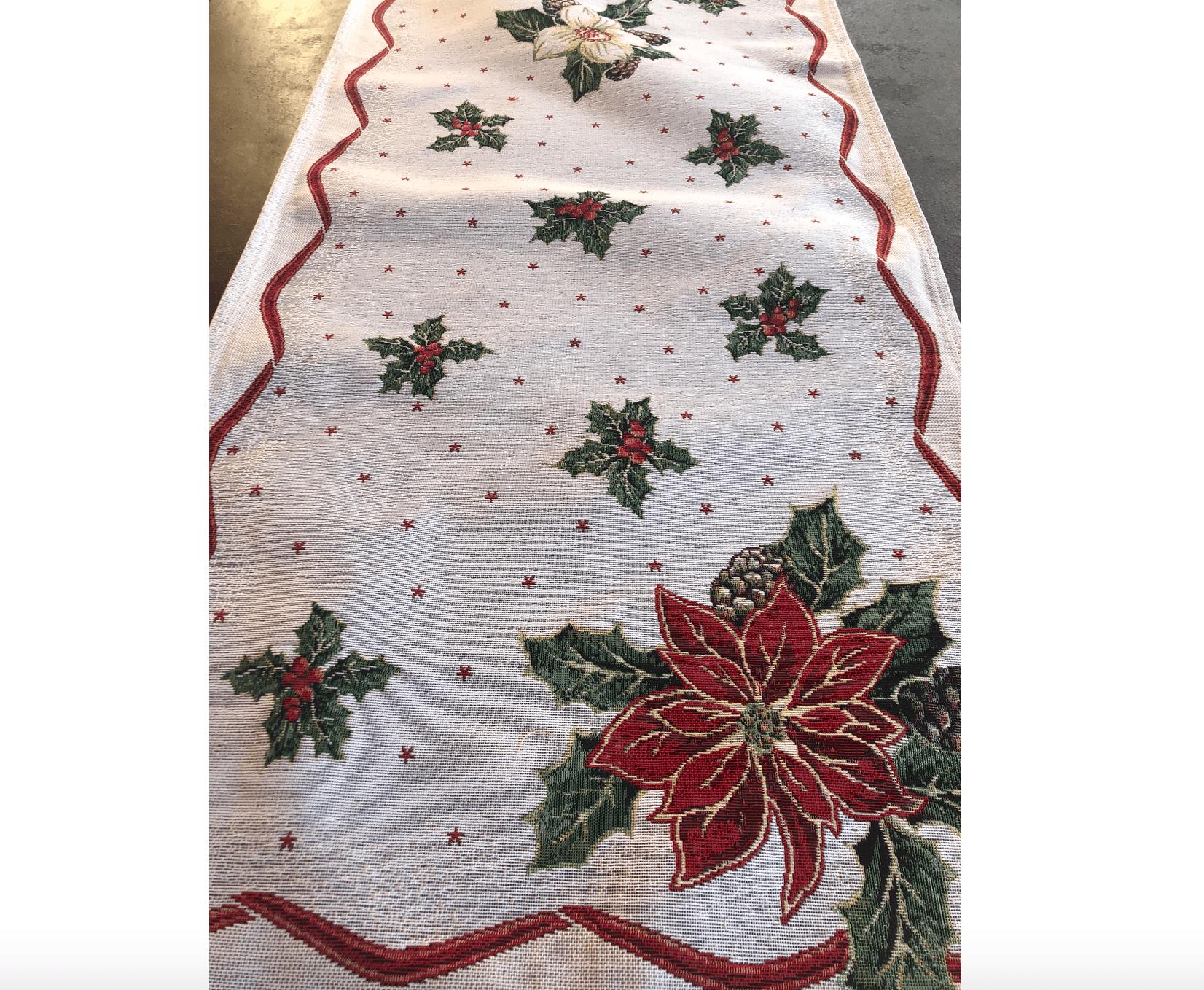 Runner in gobelin 135×45 – Stella di Natale