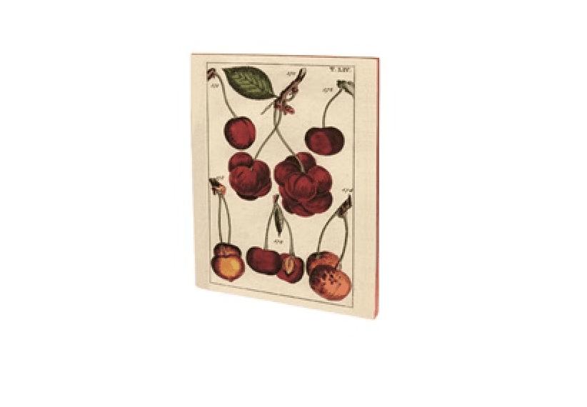 Quaderno vintage A5 – Ciliegie