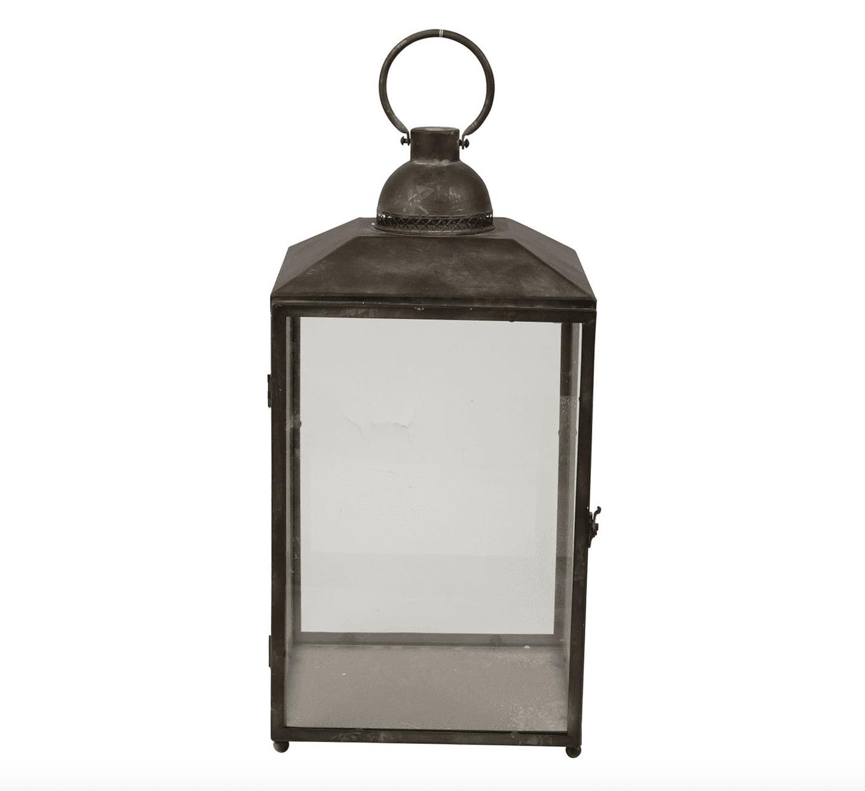 Lanterna con esterno nero – Grande