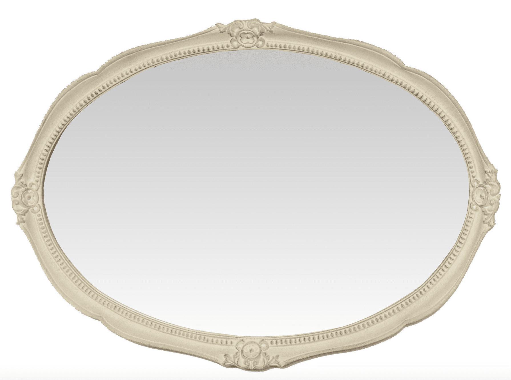 Specchio Ovale grande – Beige