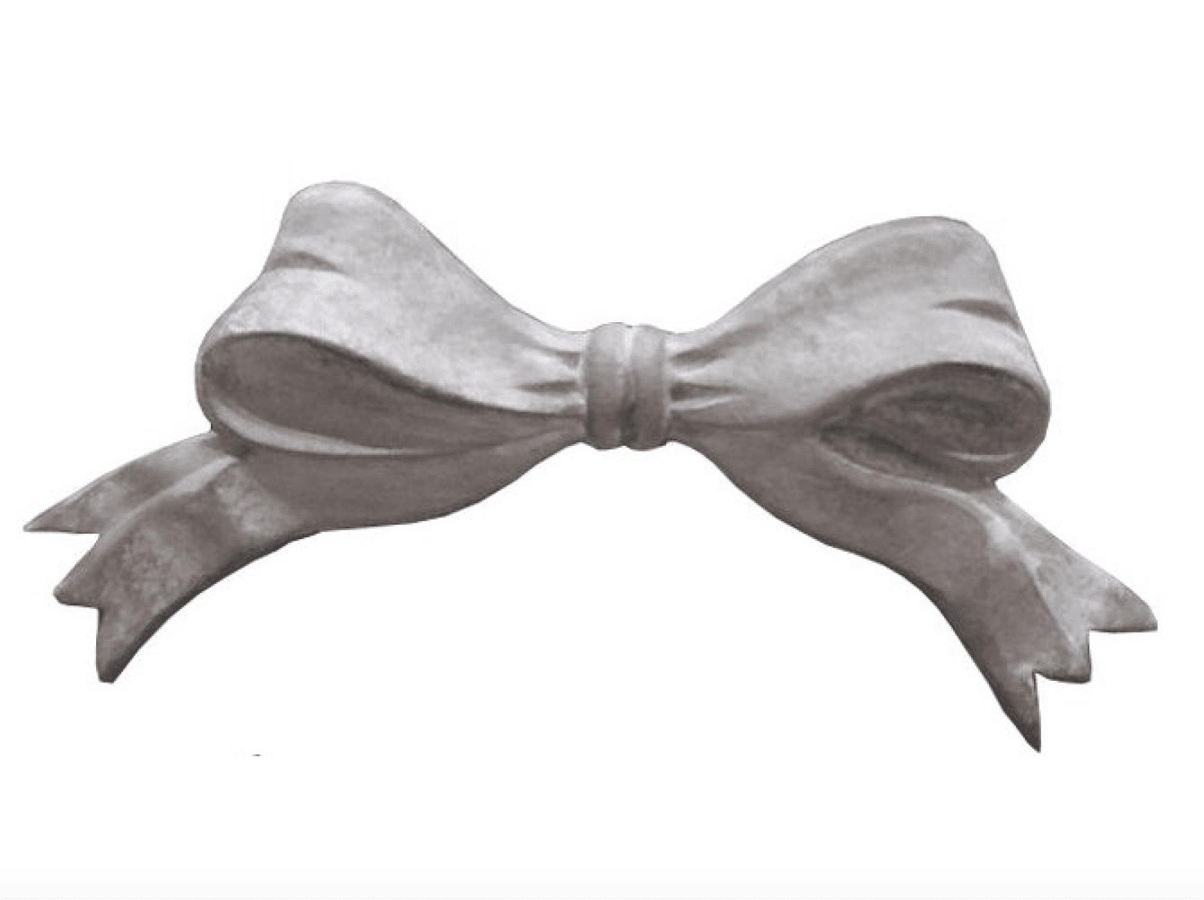 Fiocco di colore grigio – 22x11cm