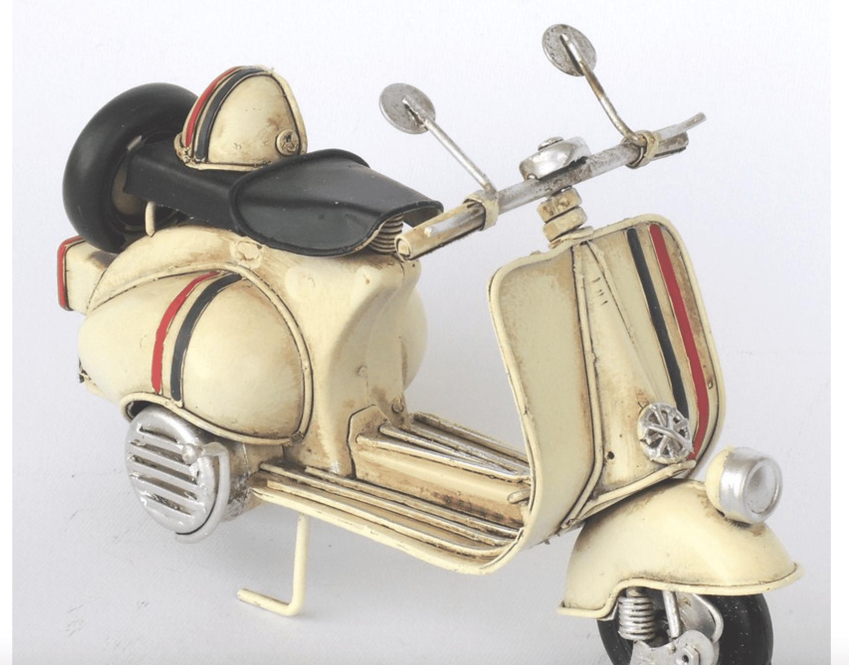 Modellino Motorino tricolore