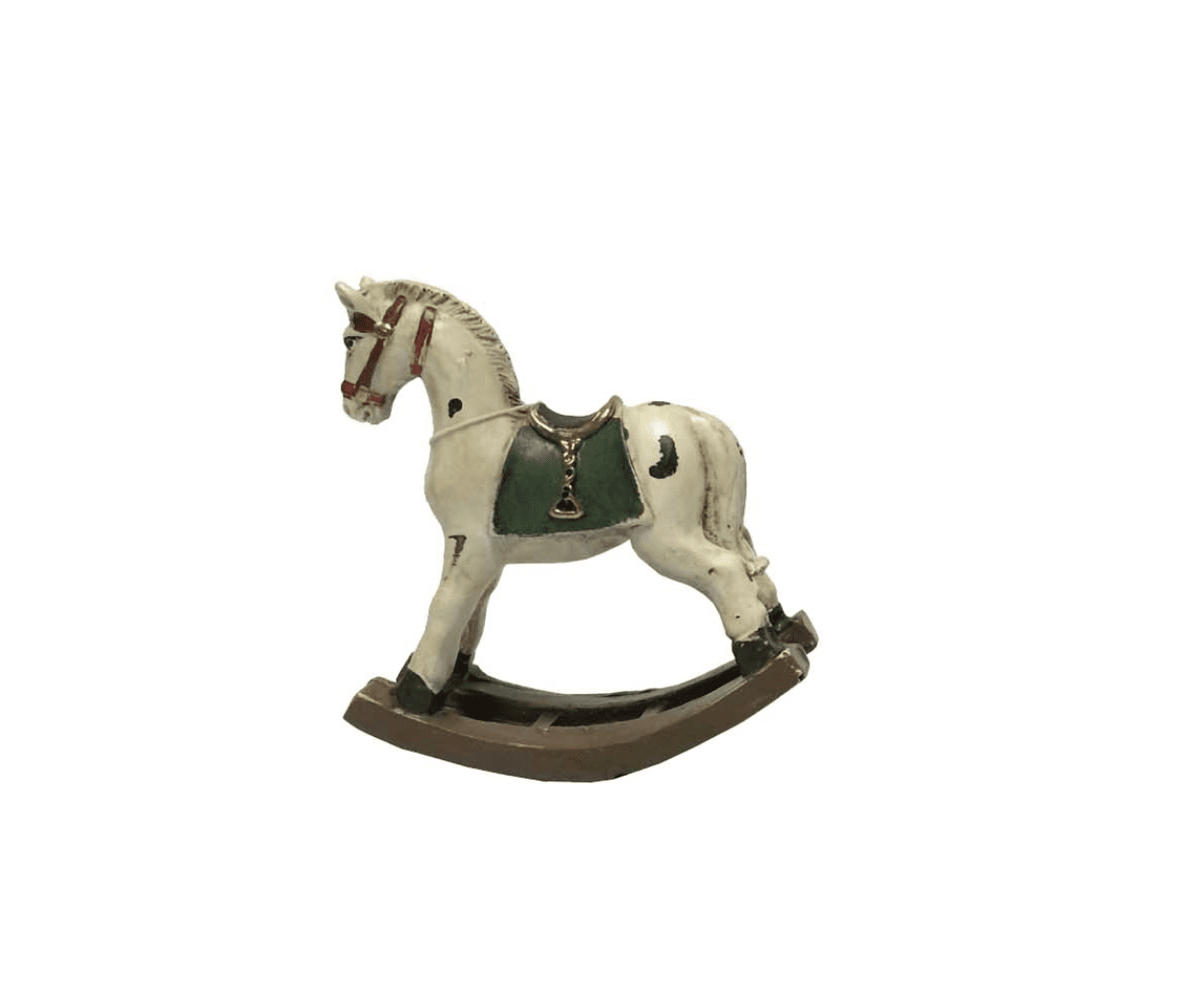 Cavallo a dondolo in resina