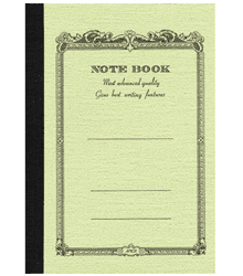 Notebook 14×12,4 – Verde antico