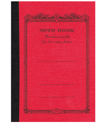 Notebook 14×12,4 – Rosso