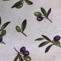 Tovaglia cotone 140×300 – Olive piccole