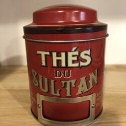 Scatoletta porta thé – Rossa