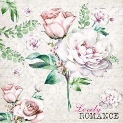 Tovaglioli di carta 3 veli – Lovely Romance