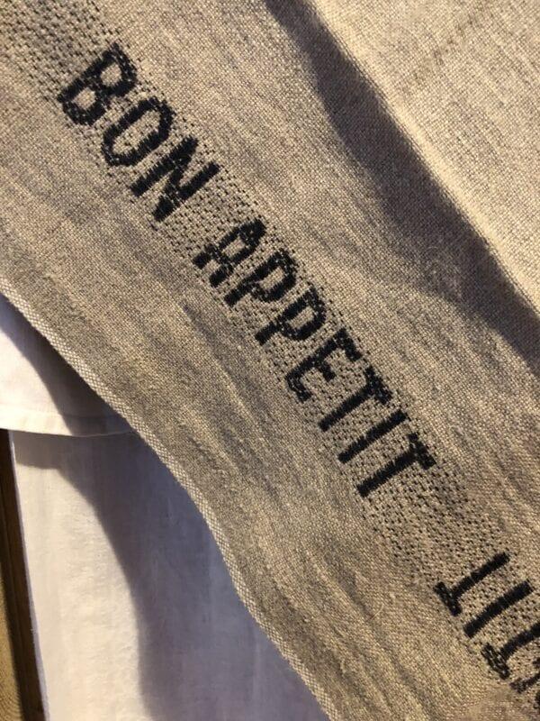 Canovaccio in lino – Bon Appetit
