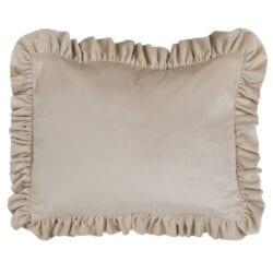 Cuscino velluto rettangolare – Grigio