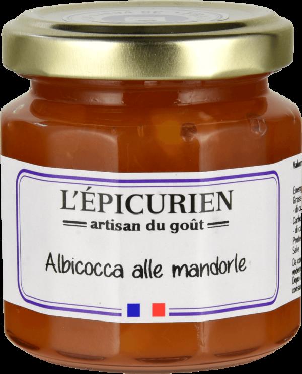 Confettura di albicocca alle mandorle – 125g
