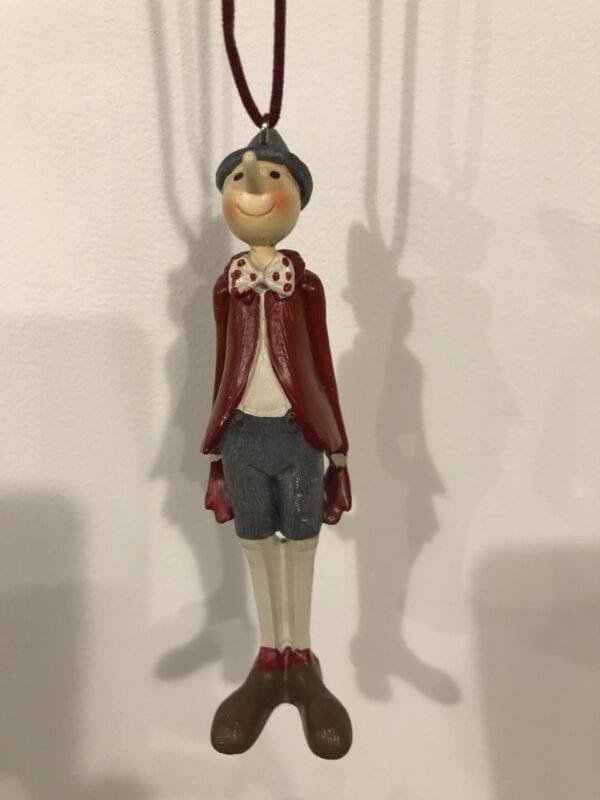 Piccolo pendente con Pinocchio
