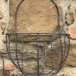 Vaso in ferro da muro – Grande