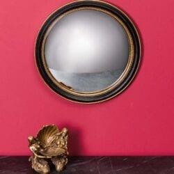 """Specchio """"Occhio di Strega"""" con dorato – Grande"""
