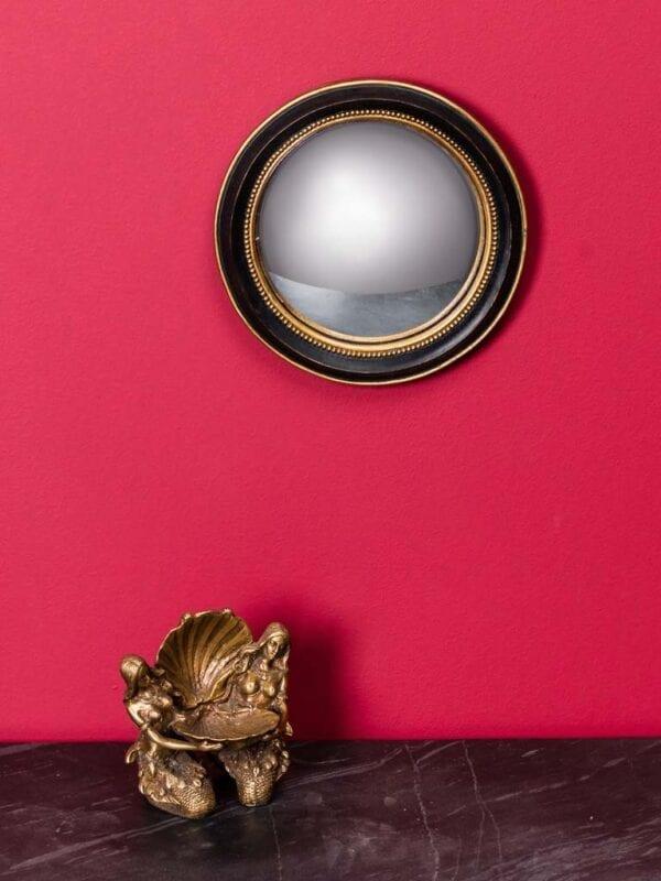 """Specchio """"Occhio di Strega"""" con dorato – Piccolo"""