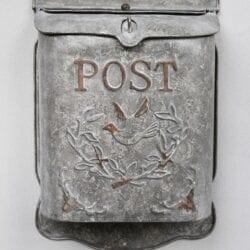 Cassetta per posta in metallo