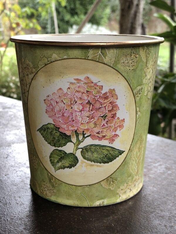 Vaso primavera – Verde con peonia