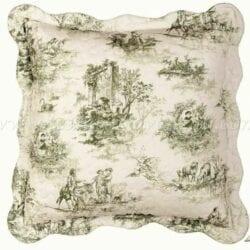 Cuscino quadrato – Tela di Jouy