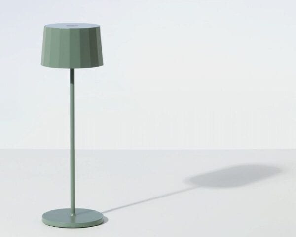 Piccola lampada da tavolo al Led – Verde Salvia