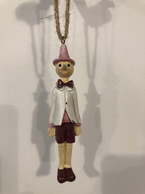 Pendente Pinocchio Marionetta Rosa – Piccolo