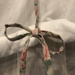 Tenda Romantic Roses con lacci