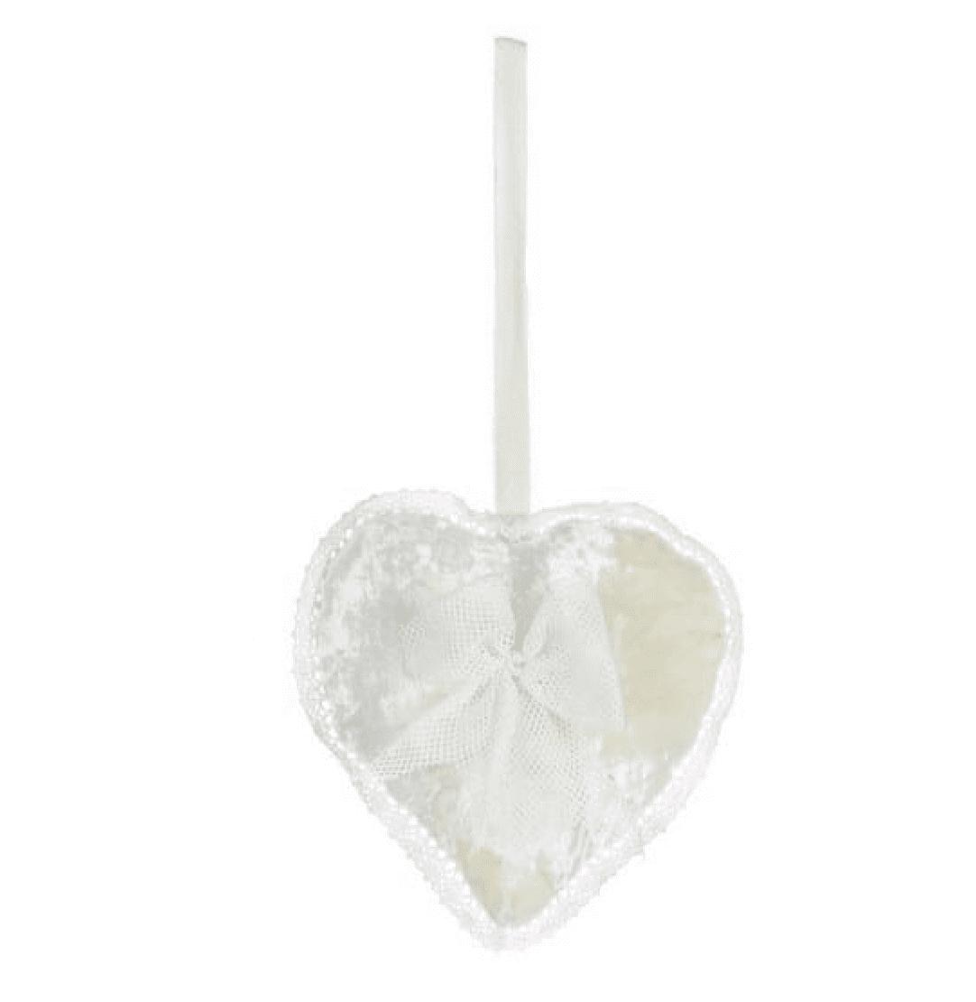 Decorazione a forma di cuore – Beige