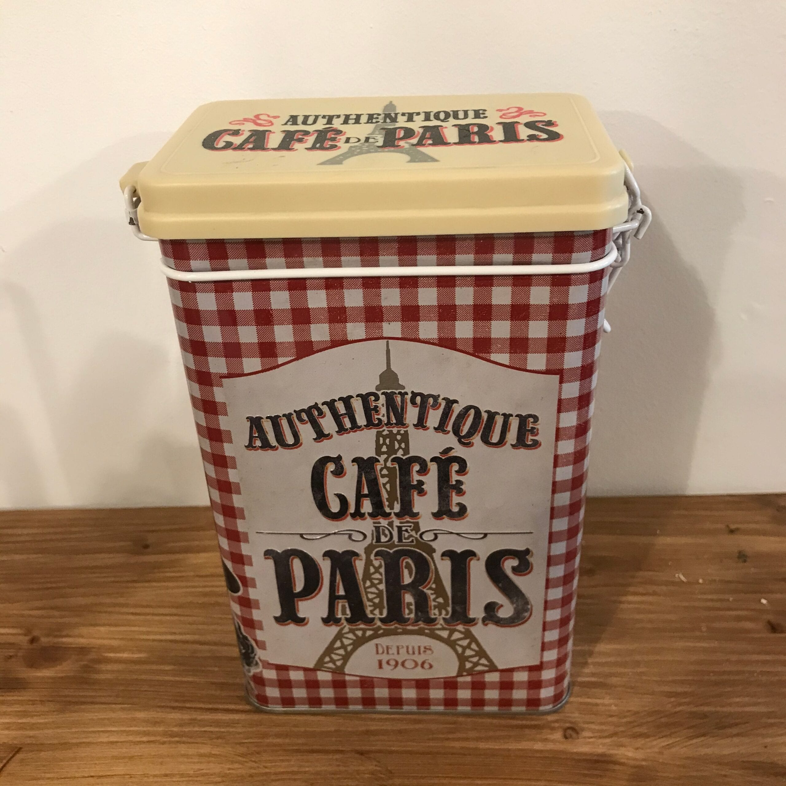Scatola porta caffè – Cafè de Paris