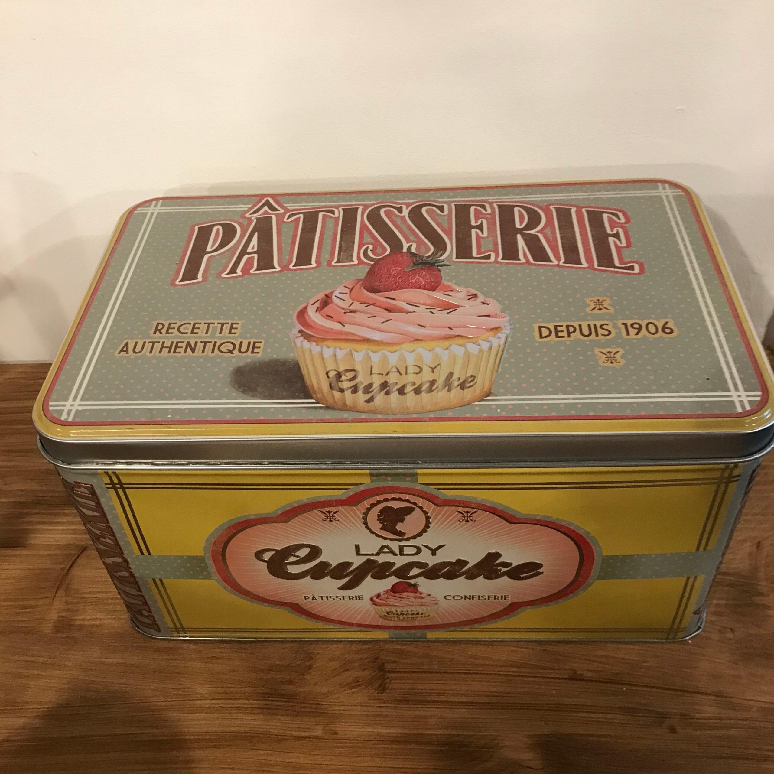 Grande Scatola porta oggetti – Lady Cupcake