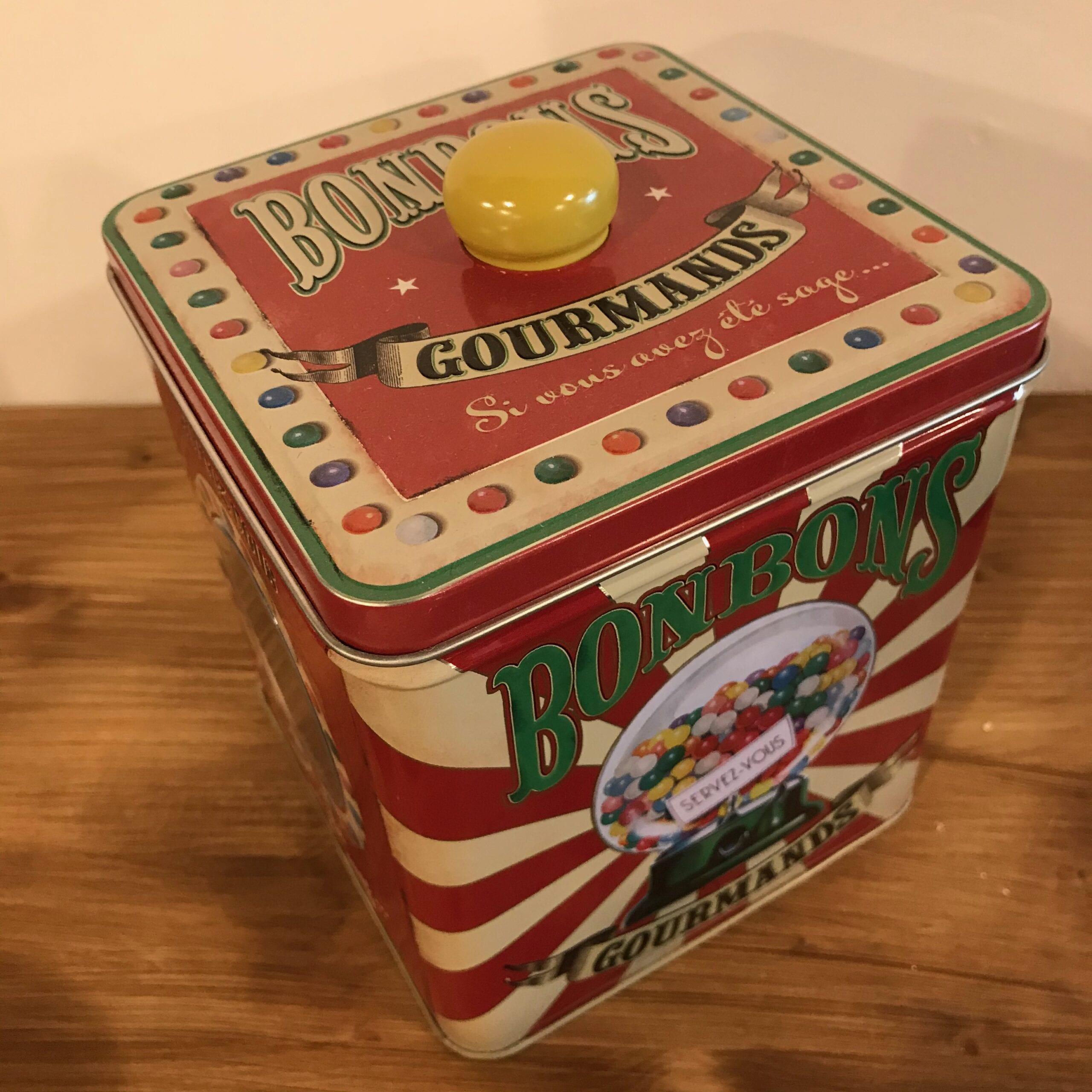 Scatola porta oggetti rossa – Bonbons