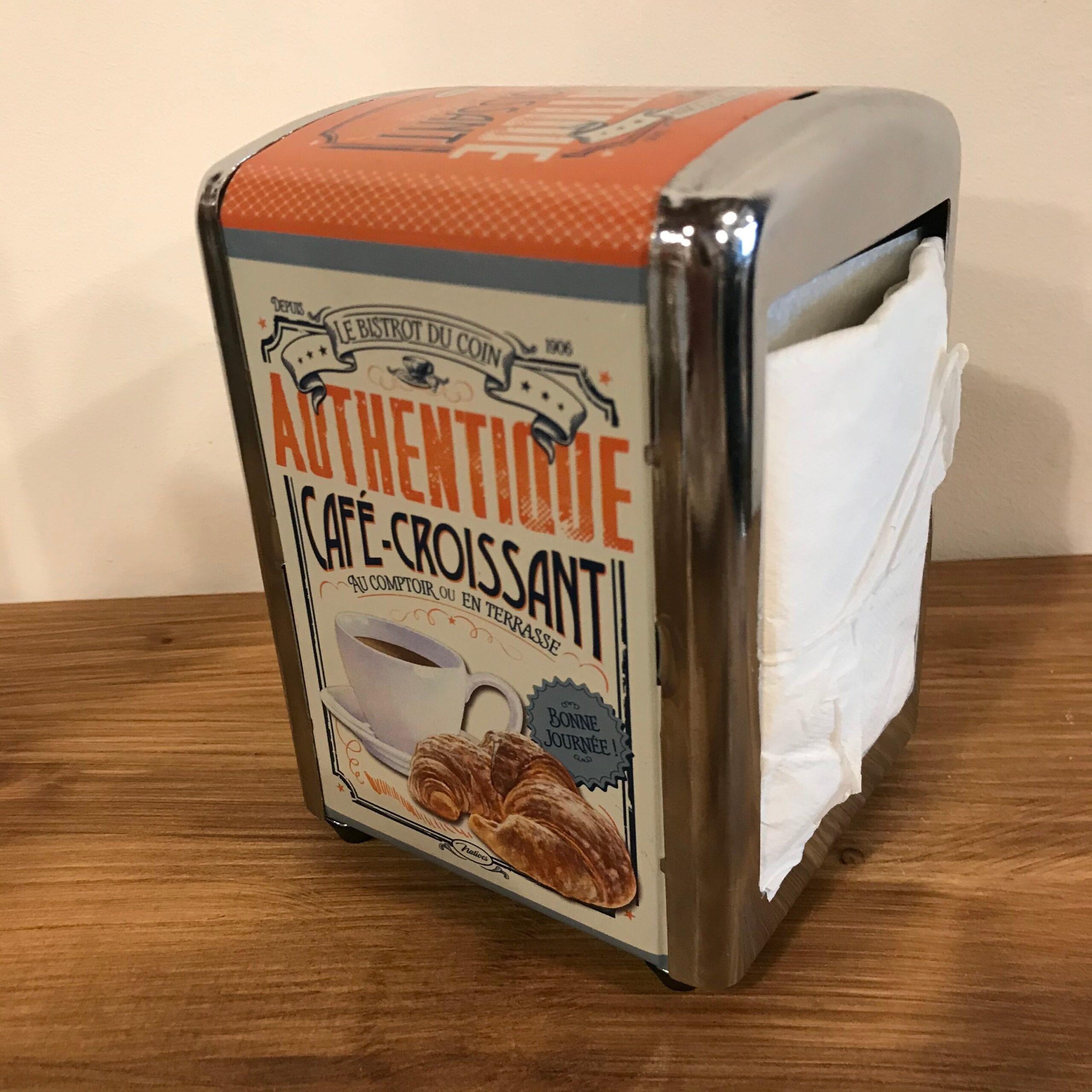 Porta tovagliolini – Authentique cafè croissant