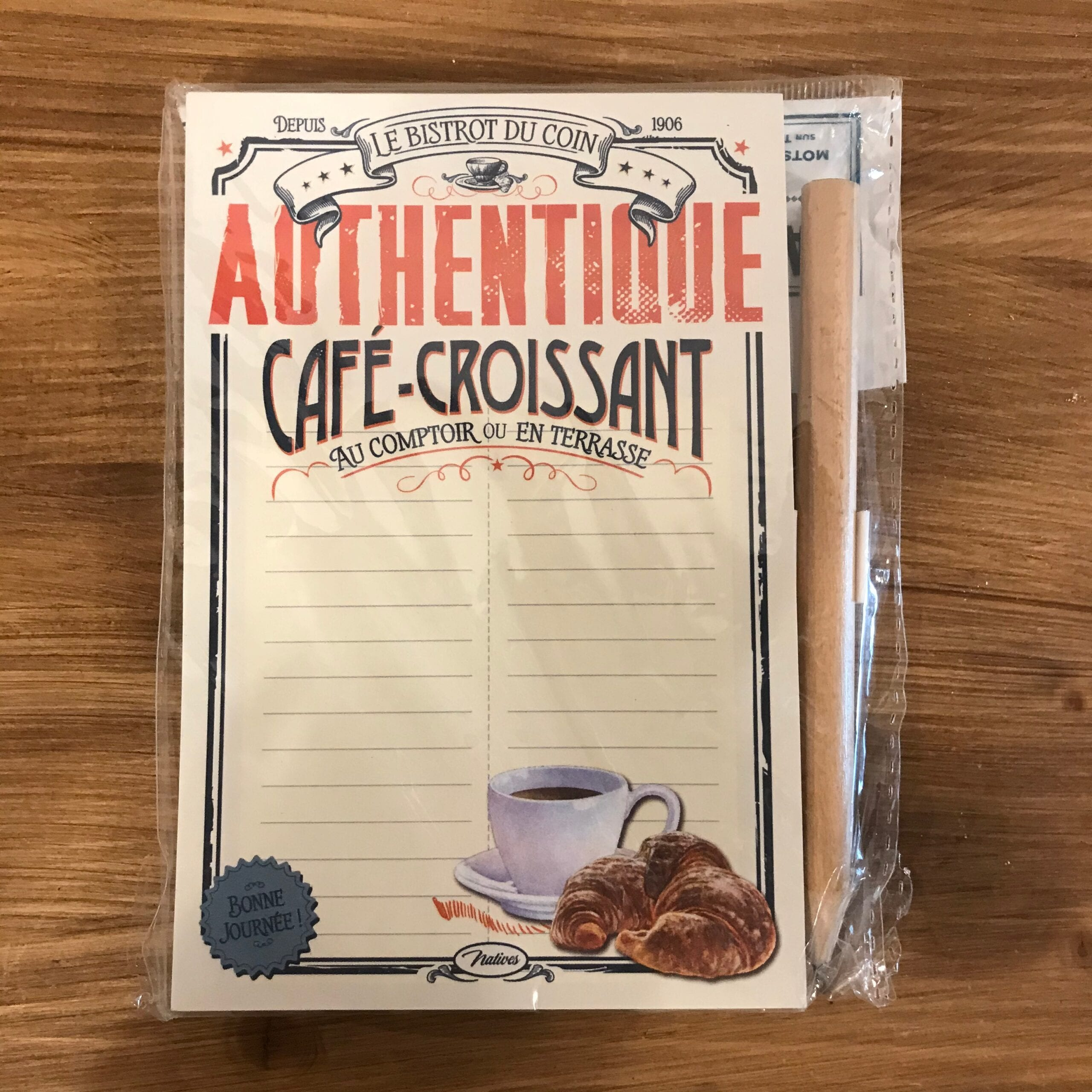 Bloc-Notes con calamita – Authentique cafè