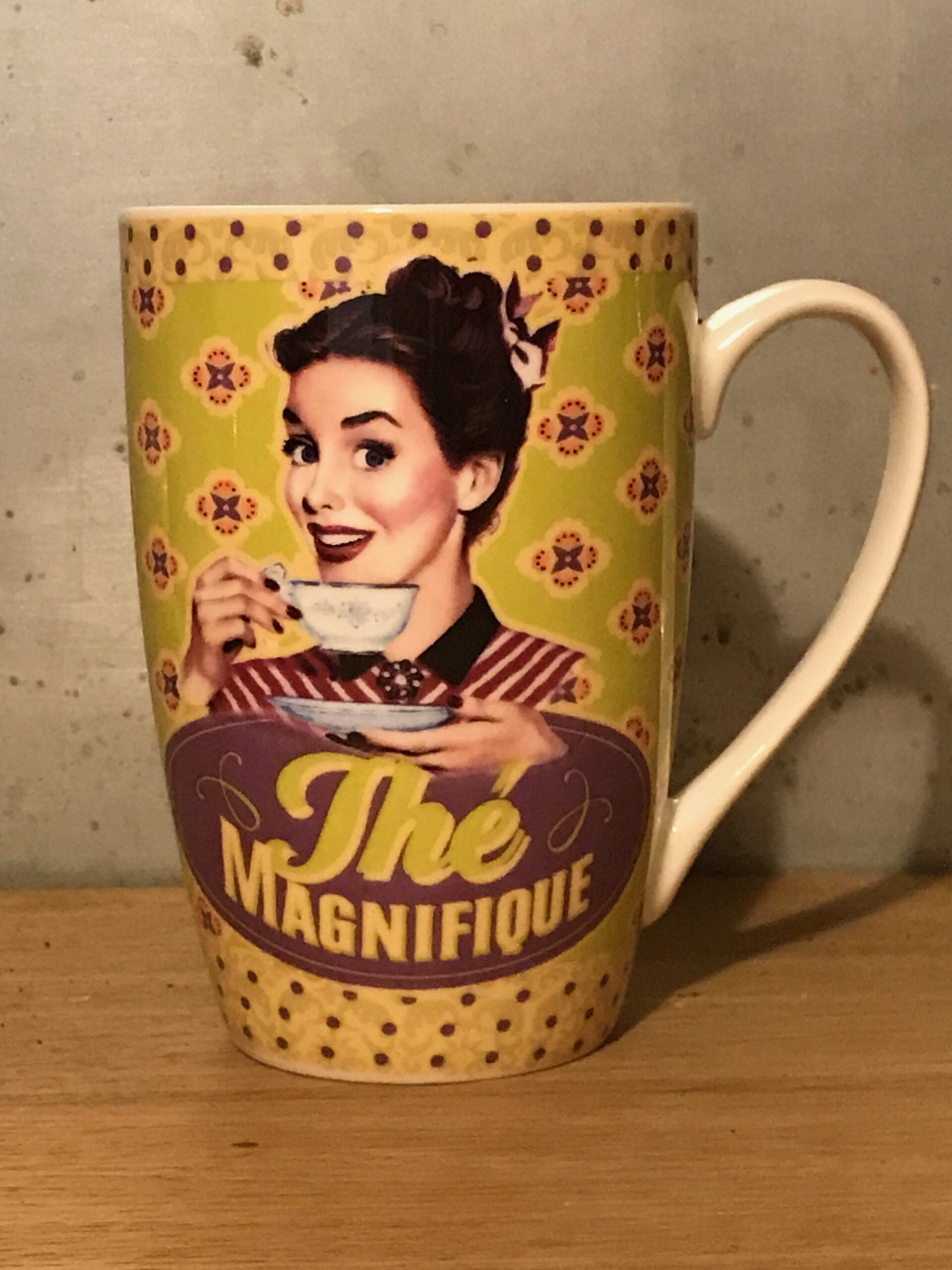Tazza Decorata – The Magnifique