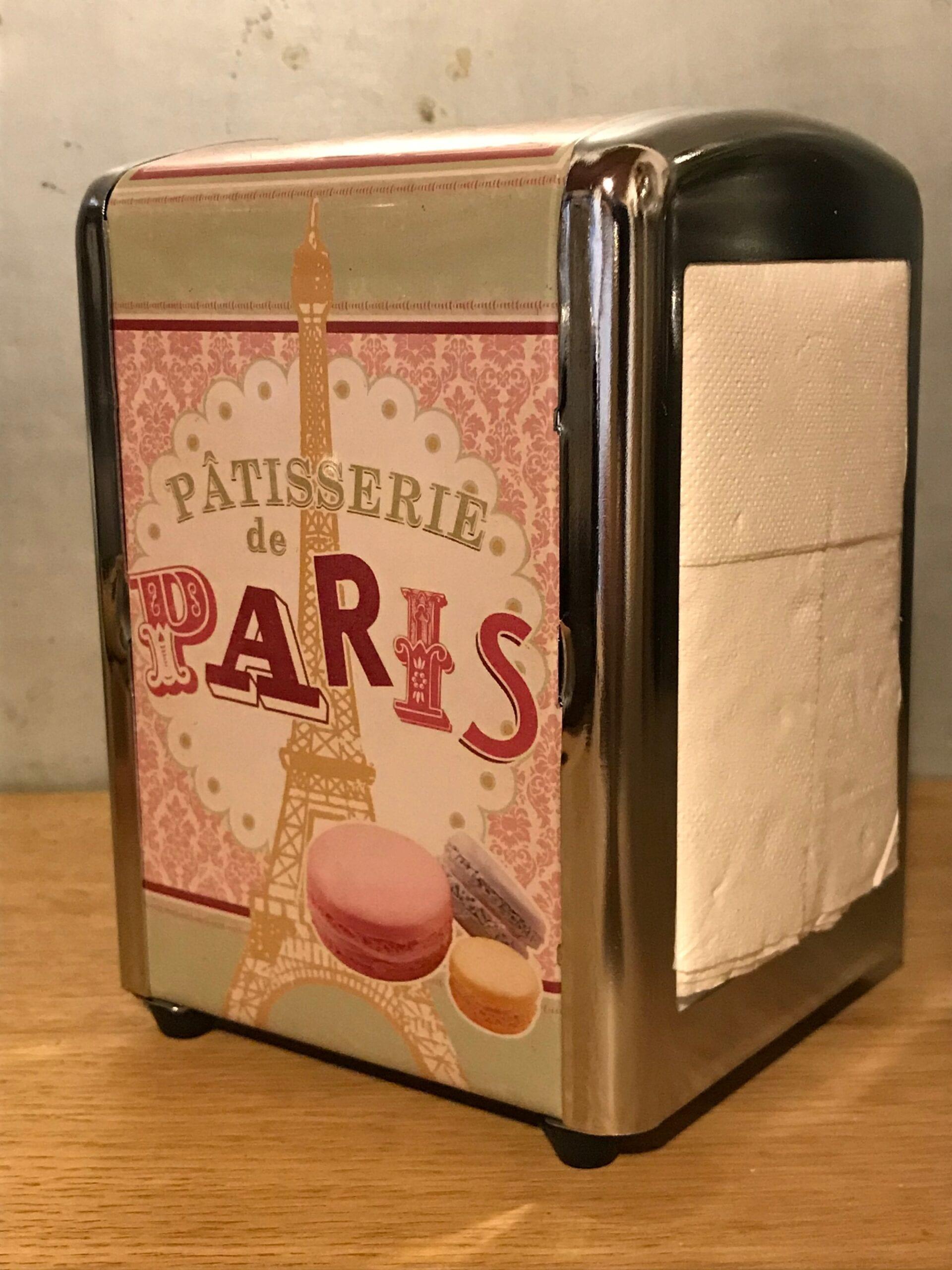 Porta tovagliolini – Patisserie de Paris