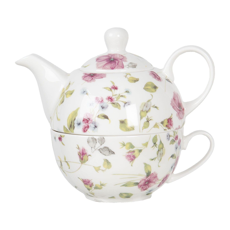 Set per té porcellana – Fiorellini