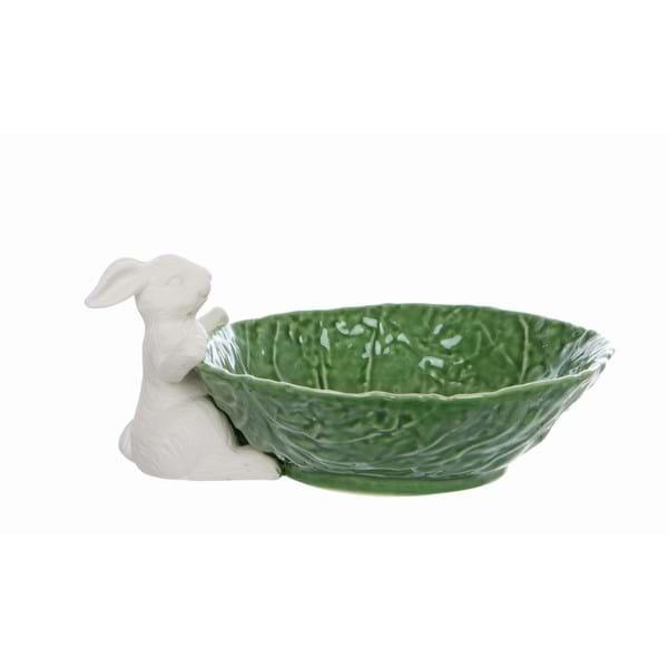 Coppetta in porcellana con coniglio